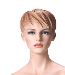 Dámská figurína Adela tělová, postoj 2, prolisované vlasy