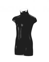 BU9350 Dětské torso, černé 3-5 let