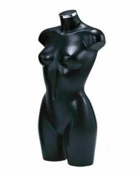 BU9450 Dámské torzo, dlouhé černé