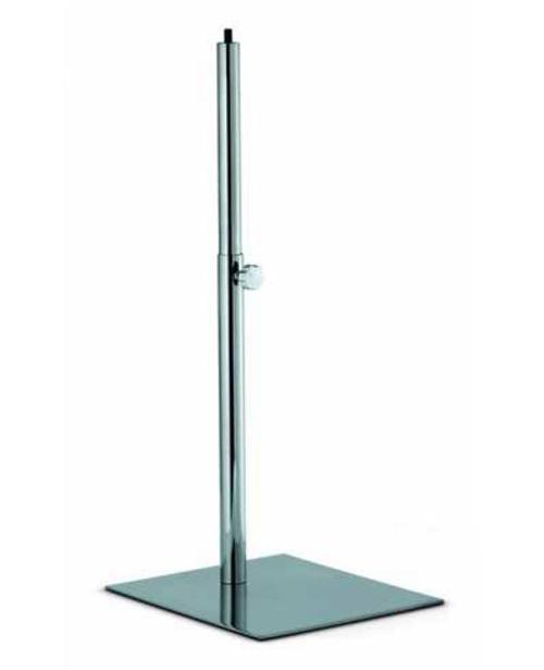 BU96520E Noha krátká, chromová, základna 27x32 cm