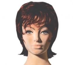 Poly Star Lady, pohybovatelná dámská figurína, provedení flock, tělová s make-up, bez paruky