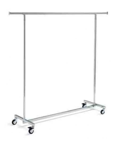 ST21214 výškově nastavitelný konfekční štendr, šíře 140 cm, výška 140-200 cm
