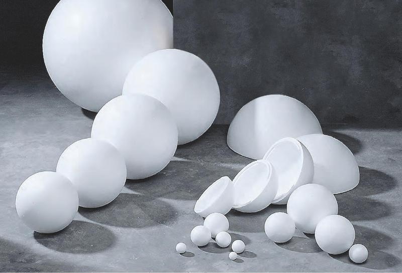 Polystyrenová koule ∅ 7cm, č. 140.4310.0070.0000, bílá