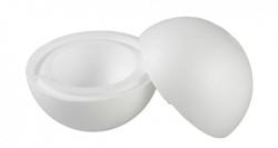Polystyrenová polokoule ∅ 25cm, č. 140.4320.0250.0000, bílá