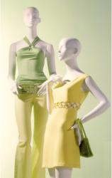 Abstraktní figuríny luxusní - dámské Retro