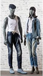Abstraktní figuríny Semira a Semiro