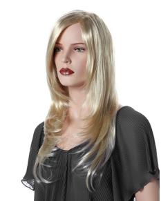 Paruka Kirsten, dámská, světlá blond