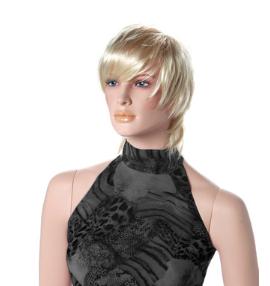 Paruka Lin, dámská, světlá blond