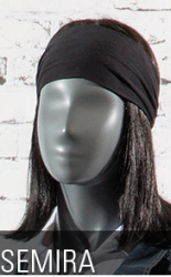 Semira, torso dámské - dlouhé, abstraktní hlava, šedá, nano – povrchová úprava