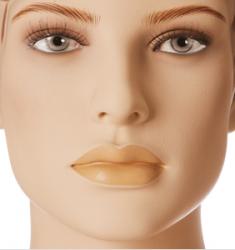 Dámská figurína Irene tělová, postoj 5, hlava na paruku