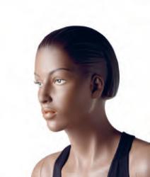 Athletix sportovní figurína, posice AHF-02, make-up B