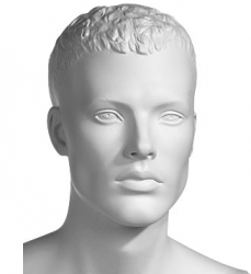 Athletix sportovní figurína, posice AHM-02, bílá