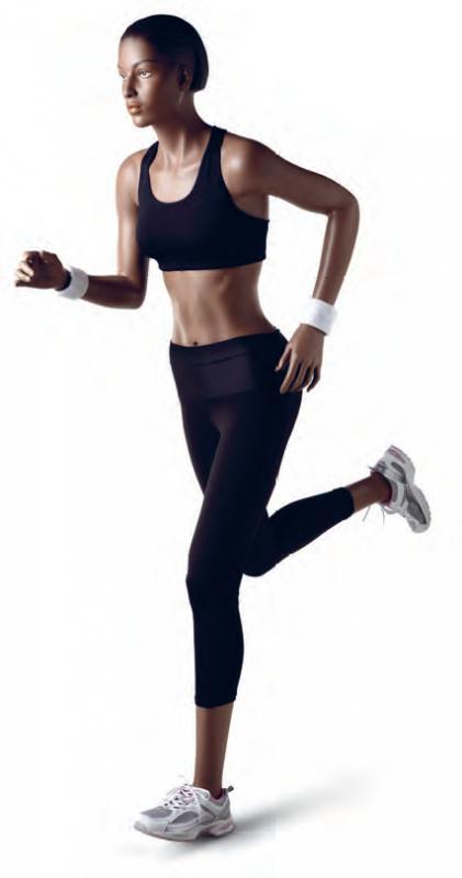 Athletix sportovní figurína, posice AHF-01, make-up B