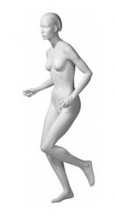Athletix sportovní figurína, posice AHF-02, bílá
