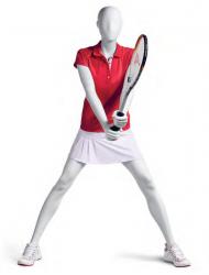 Athletix sportovní figurína, posice AHF-03,hlava Pam, bílá
