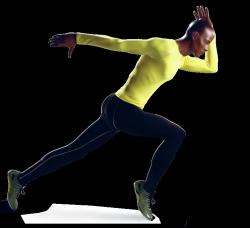 Athletix sportovní figurína, posice AHM-01, make-up B