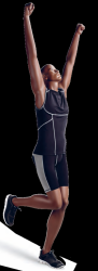 Athletix sportovní figurína, posice AHM-03, make-up B