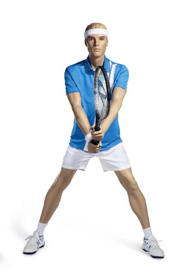 Athletix sportovní figurína, posice AHM-04, make-up A