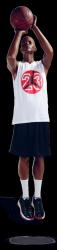 Athletix sportovní figurína, posice AHM-06, make-up B