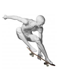 Athletix sportovní figurína, posice AHM-08, bílá