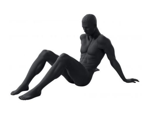 Athletix sportovní figurína, posice AHM-16