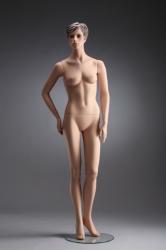 Dámská figurína Irene tělová, postoj 4, prolisované vlasy