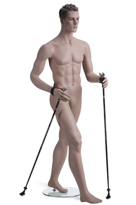 Kevin Walker sportovní figurína, prolisované vlasy, tělová s makeup