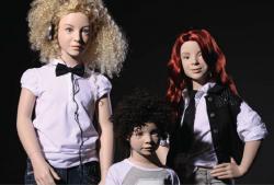 Dětské figuríny luxusní