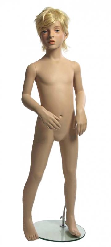 Kids Club dětská figurína Alexander 8 let, postoj 2, hlava na paruku, tělová
