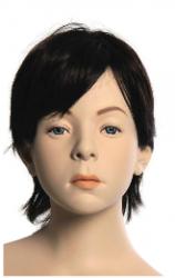Kids Club dětská figurína David 10 let, postoj 2, hlava na paruku, tělová