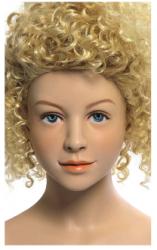 Kids Club dětská figurína Laura 8 let, postoj 1, hlava na paruku, tělová