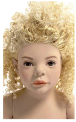 Kids Club dětská figurína Lucy 2 roky, postoj 1, hlava na paruku, tělová
