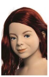 Kids Club dětská figurína Natalie 6 let, postoj 1, hlava na paruku, tělová