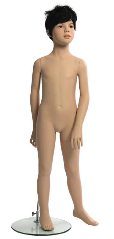 Kids Club dětská figurína Samuel 6 let, postoj 2, hlava na paruku, tělová