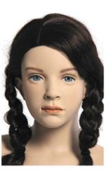 Kids Club dětská figurína Sophia 10 let, postoj 1, hlava na paruku, tělová