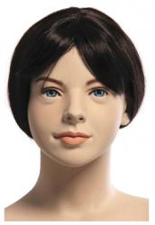 Kids Club dětská figurína Zoey 12 let, hlava na paruku, tělová