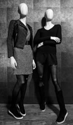 Abstraktní figuríny luxusní - dámské Chelsea