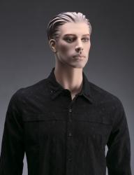 Pánská figurína Nik, tělová s make-up