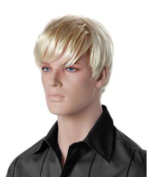 Paruka Luke, pánská, světlá blond