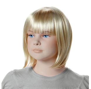 Paruka Minne, dětská, světlá blond
