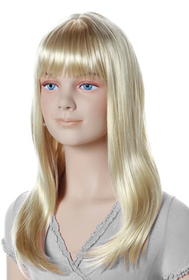 Paruka Mona Lisa, dětská, světlá blond