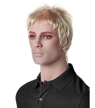 Paruka MR. SPEARS, pánská, světlá blond