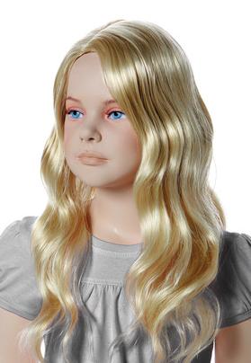 Paruka Sweety, dětská, světlá blond