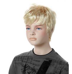 Paruka Tim, dětská, světlá blond