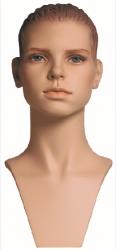 Sportovní hlava Kim, tělová s prolisovanými vlasy a s make-up