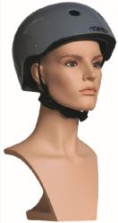 Sportovní hlava Liv, tělová s prolisovanými vlasy a s make-up