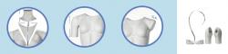 """""""NEW"""" Packshot Slim FS01 – Dámská figurína pro fotografování na e-shopy"""