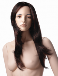 Tough, postoj 7, hlava Anja, Make-up Anja, barva NH, hlava na paruku