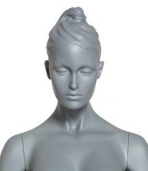 Dámská figurína Diva, pozice D1403S, barva RAL 7006, výška 190 cm