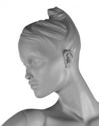 Dámská figurína Diva, pozice D1404S, barva RAL 7006, výška 190 cm